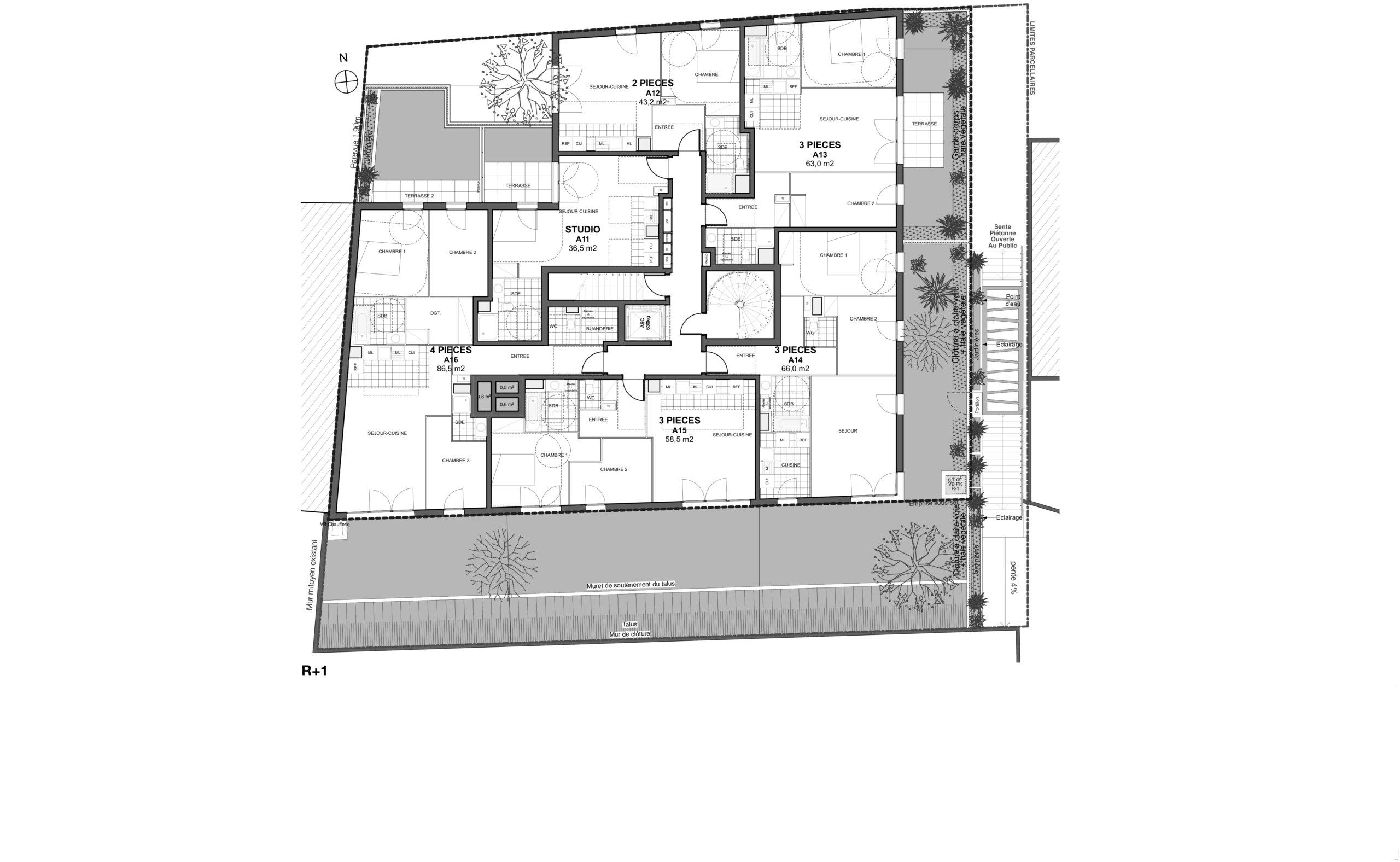 CONSTRUCTION DE 31 LOGEMENTS